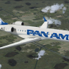 CRJ 700 Pan Am in flight to MIA