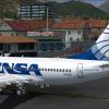 Avensa Boeing 737-700 in Merida, Venezuela