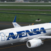 Avensa Boeing 737-700 Taxiing to Gate in Orlando Intl Airport