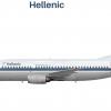 Hellenic 737-300 (90's scheme)
