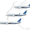 Hellenic National 767 Fleet Poster (20's Scheme)