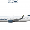 Hellenic 737-300 (00's scheme)