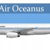Air Oceanus A320-200 (90's scheme)