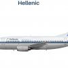Hellenic 737-500 (90's scheme)