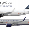A320 cityhopper & Dynasty World Alliance
