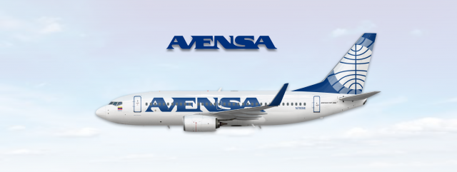 Boeing 737 700 Avensa (Pan Am Tail Style)