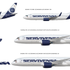 Servivensa New Livery Fleet