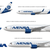 Avensa New Livery Fleet