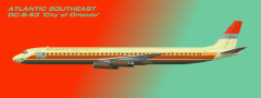 Atlantic Southeast Air Lines DC-8-63