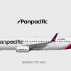 Panpacific Airlines | Boeing 737-800 | 2016-
