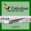 Zimbabwe Airlines Boeing 767-200 Livery (2016-)
