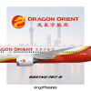 Dragon Orient Airlines Boeing 787-8 Livery