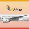 Afrika Boeing 777-200ER Livery (Special)