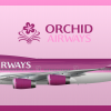 Orchid Airways Boeing 747-400 Livery (1995-2005)