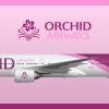 Orchid Airways Boeing 777-300ER Livery (2006-)