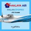 Malaya Ekspres for Malaya Air ATR72-600 Livery