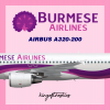 Burmese Airlines A320-200 Livery