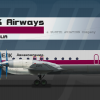 SILK Airways (virtual airline) Ilyushin IL-18D