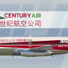 CENTURY AIR (virtual airline) Boeing 737-200