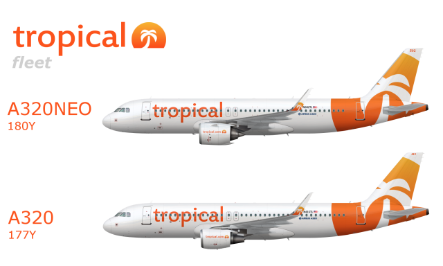68b60a432113 Modern Fleet - Tropical Airlines - Gallery - Airline Empires