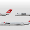 Northwest premerger Douglas DC-9's