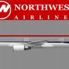 Northwest Bowlingshoe Boeing 757-300