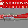 Northwest Bowlingshoe Airlink SAAB 340B (Mesaba Airlines)