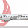 Japan Airlines (1990's livery) Boeing 787-8