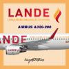 LANDE Líneas Aéreas Nacionales De España Airbus A320-200 Livery