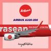 AirAsean A320-200 Livery