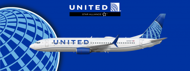 United Airlines 2019 Boeing 737 800 Real World Liveries