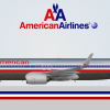 American Airlines Boeing 737-800 (chrome)
