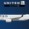 United Airlines New Livery Concept Boeing 757-200