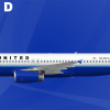 United Airlines (Rising Blue) Airbus A320