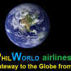 The First Big PhilWorld Airlines Logo