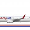 LibertyJet 737-800 (2020)