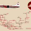 American Southwest Airlines- Route Map