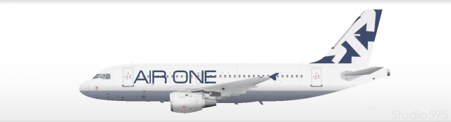AIR ONE A319 Livery
