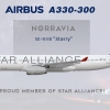 Norravia Airbus A330-300 Star Alliance