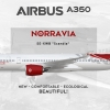 Norravia Airbus A350 1000