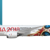 Schwalbenruf Boeing 787-8 Special Livery | Russia 2018 |