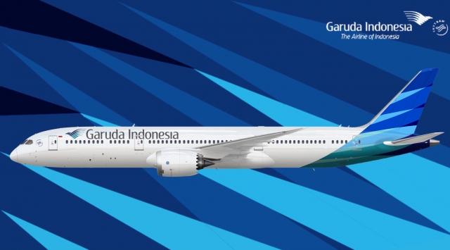 Garuda indonesia 787 9 aviation concepts gallery airline empires garuda indonesia 787 9 stopboris Choice Image