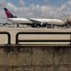 Delta 777-200 in Atlanta