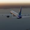 United 757-200 Descending to KSFO