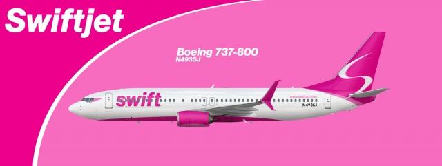 Swiftjet 2006 present Boeing 737-800