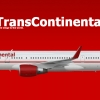 Trans Continental Boeing 757-200 1995-2006