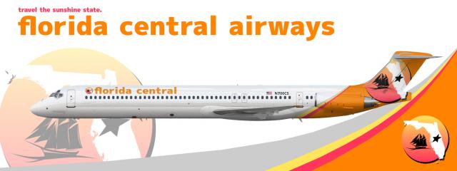 Florida Central Airways McDonnell Douglas MD-88