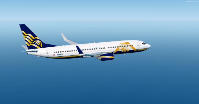 ATA 737-800 - Bird-Boi's Fsx/P3D - Gallery - Airline Empires
