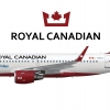 Royal Canadian | Airbus A319 | 2018 | operated by Meridian