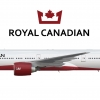 Royal Canadian Airlines | 777-300 | 2018